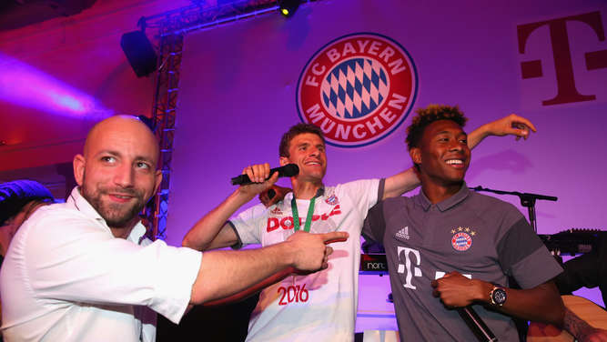 FC Bayern Muenchen Champions Party - DFB Cup Final 2016