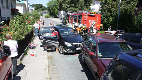 Unfall in Bad Endorf