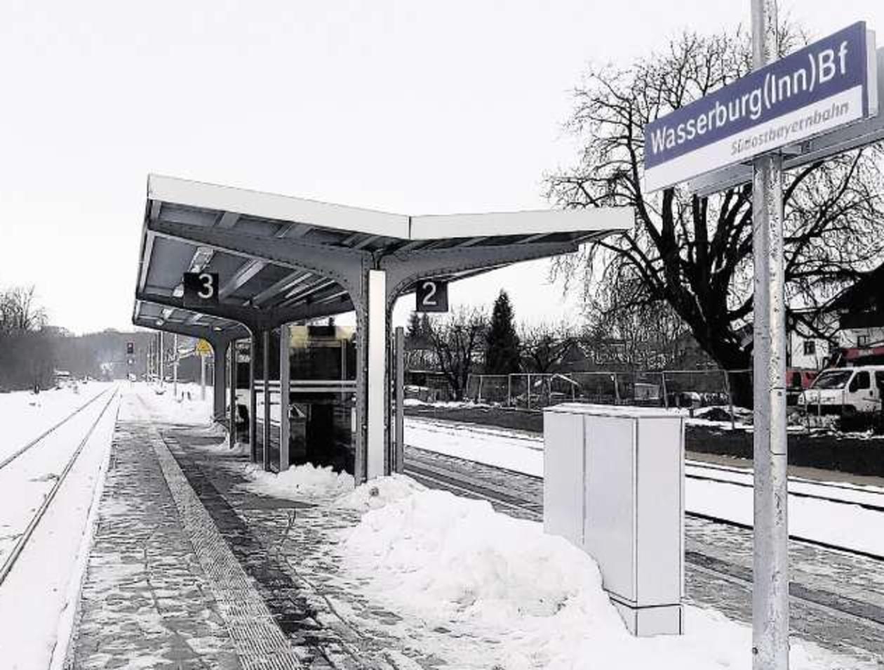 Wasserburg Bahn Gibt Gas Für Mehr Attraktivität Region