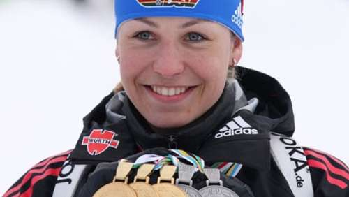 Biathlon: Neuner & Co. tanzen in den Morgen
