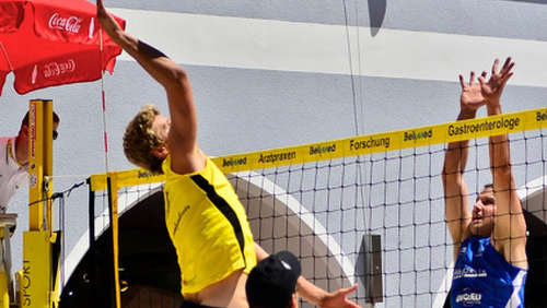 Beachvolleyball 2011 am 17.07.2011