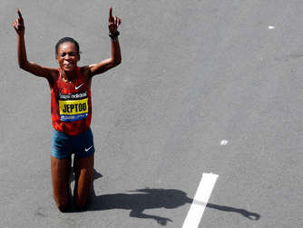 Rita Jeptoo Boston Marathon