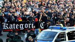 Hooligan-Demonstration in Hannover verboten