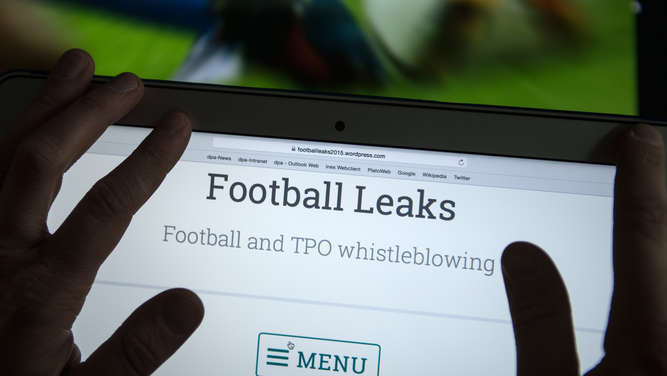football leaks, Internetplattform, Geheimnisse