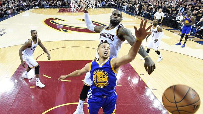 Golden State Warriors at Cleveland Cavaliers