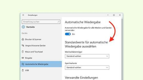 Auto-Play unter Windows 10