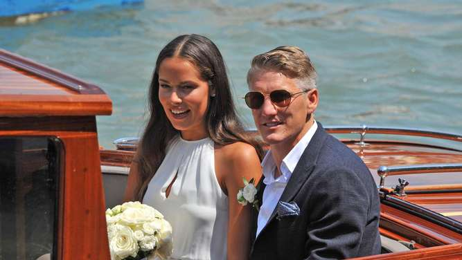 Ivanovic and Schweinsteiger wed in Venice