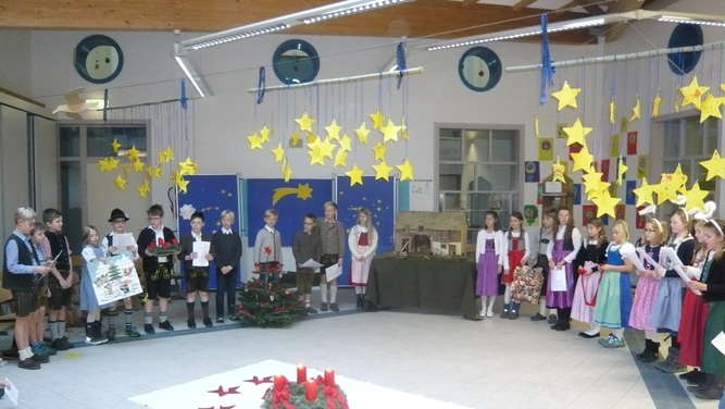 Adventsandacht in der Schule