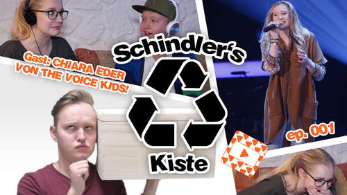 """The Voice Kids""- Star Chiara zu Gast bei ""Schindlers Kiste"""