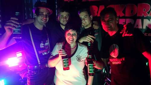 Band Battle: Backdraft Liveband will das Festzelt rocken