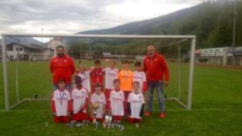 Voller Erfolg der U9 beim internationalen WES- Talente Cup in Hall/Tirol