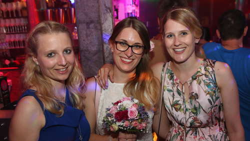 Beste Stimmung bei der Party Club Night im Sinners