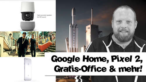 Gratis MS-Office oder SpaceX? Technik-News am 10.August