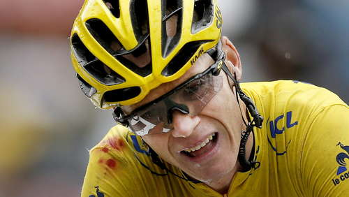Positiver Doping-Test bei Froome: