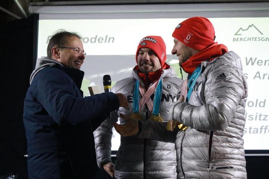 Begrüßung Bayern