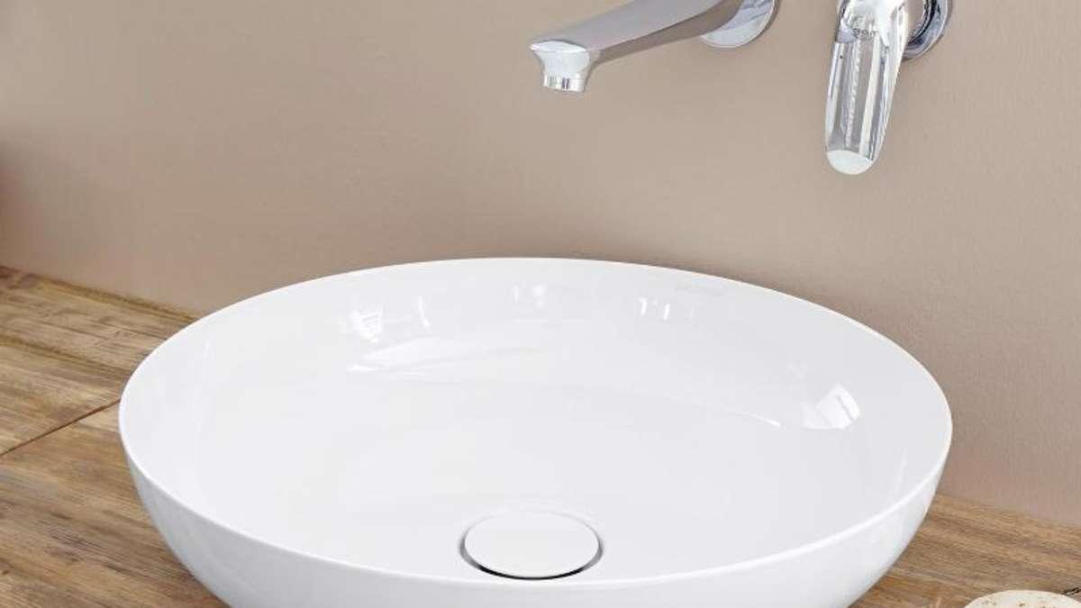 waschschale ersetzt waschbecken im badezimmer wohnen. Black Bedroom Furniture Sets. Home Design Ideas
