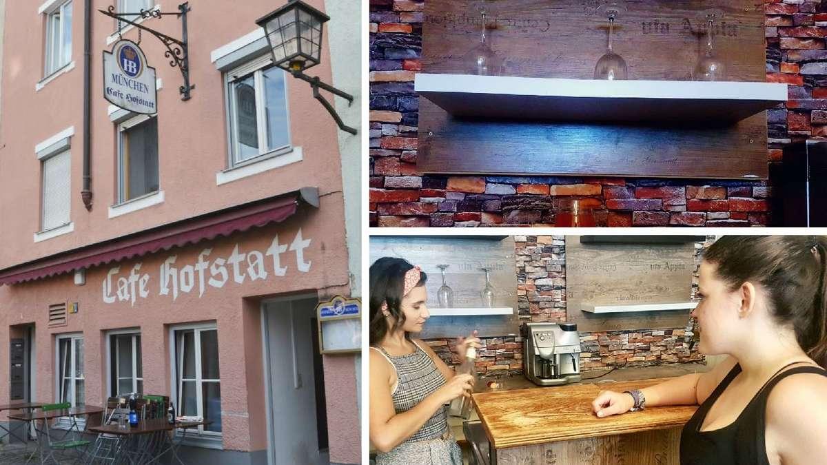 Wasserburg: Aus ehemaligem Café Hofstatt wird-Bar | Wasserburg am Inn