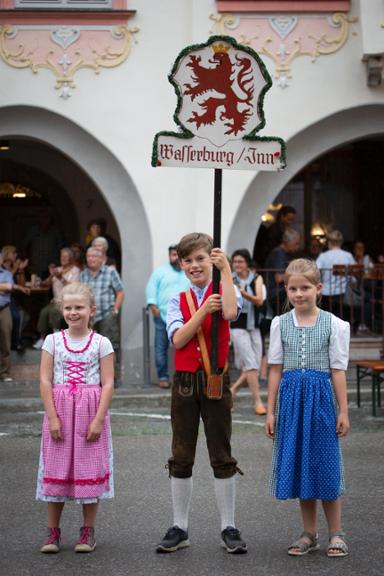 Weinfest in Wasserburg am 27. Juli 2019.