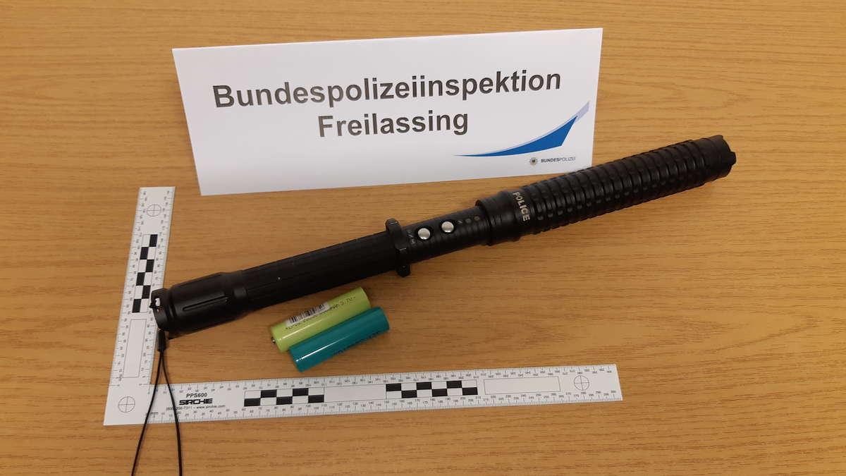 Polizei Elektroschocker
