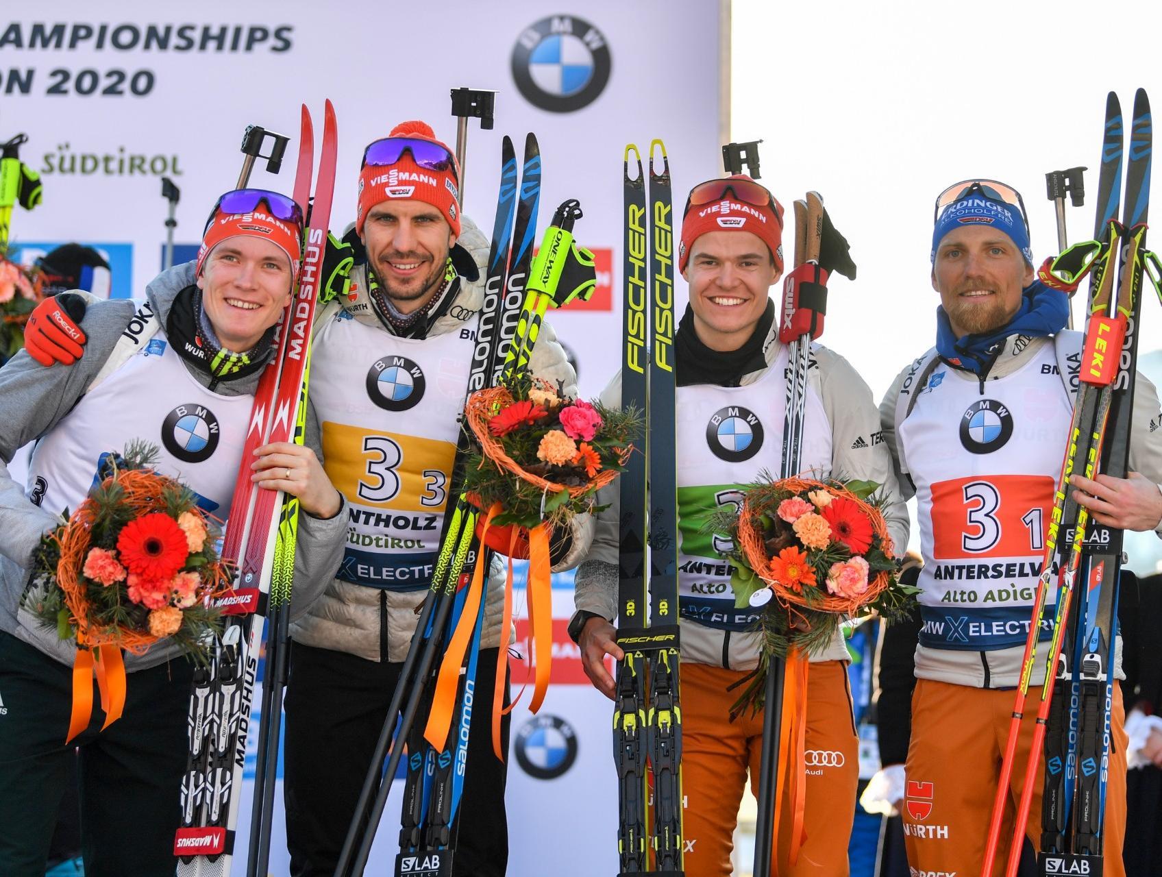 Biathlon Wm Hochfilzen 2021