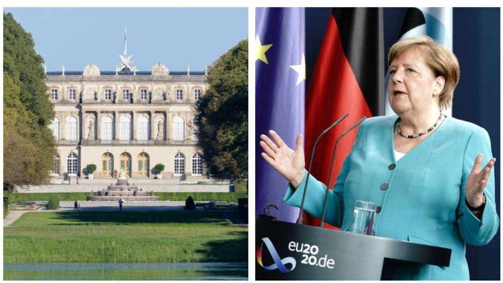 Merkel Herrenchiemsee