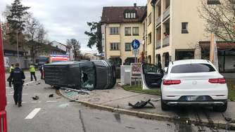 Unfall in Traunreut am 2. November