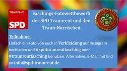 1. Online-Faschingsparade in Traunreut