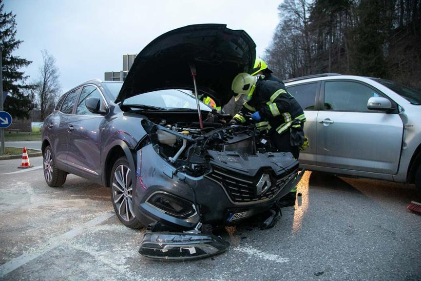 Unfall in Traunstein am 5. April